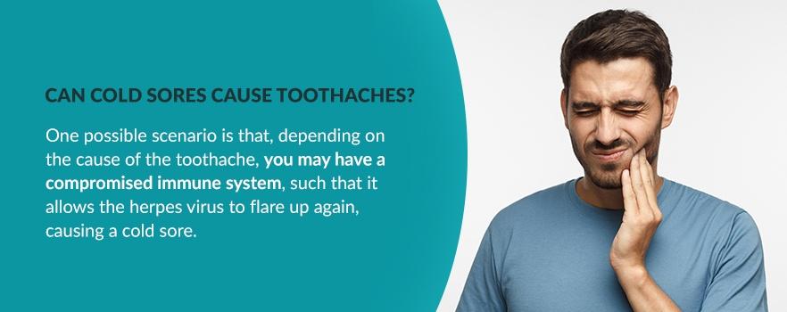cold sore dentist graphic