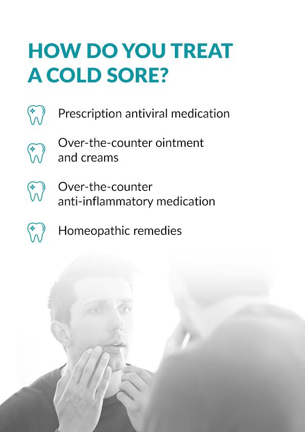 dentist cold sore